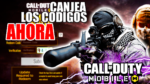 codigos call of duty mobile